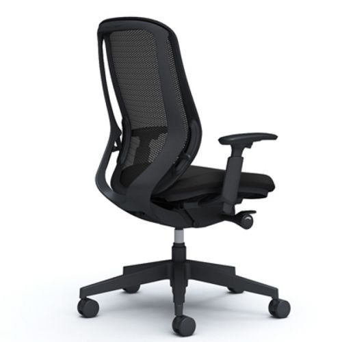 SYLPHY Black Body Chair