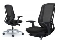 SYLPHY Polished base Chair Black