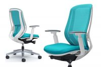 SYLPHY White body Chair Blue Green