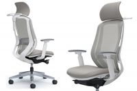 SYLPHY White body Light Grey Chair