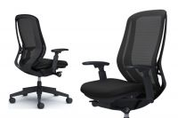 SYLPHY Black base Chair Black