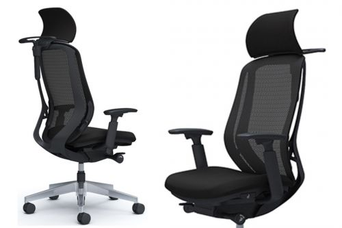 OKAMURA SYLPHY Black Body Ergonomic Office Chair