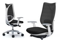 SABRINA STANDARD White body Chair Black