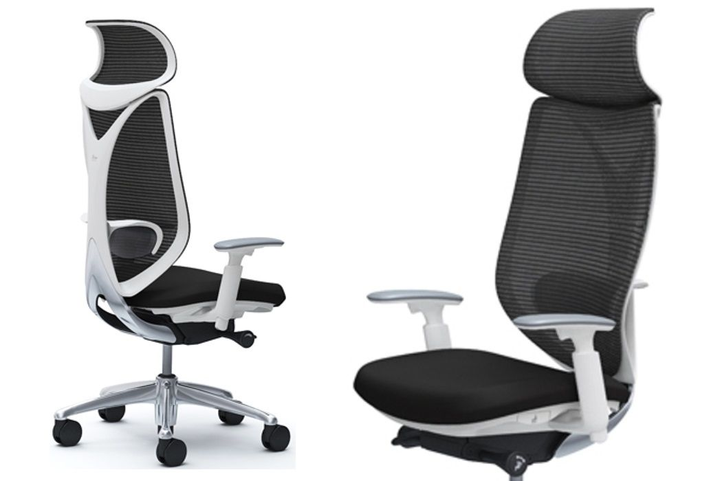 OKAMURA SABRINA STANDARD White body Chair Black