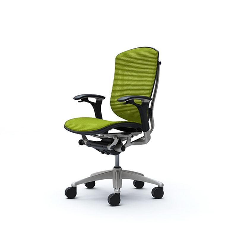 CONTESSA Lime green Mesh Chair